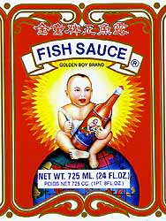 Fish Sauce, Source for Salty