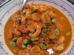 Shrimp with Sataw, Spicy