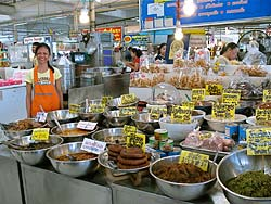 Vendor at Aw Taw Kaw Market