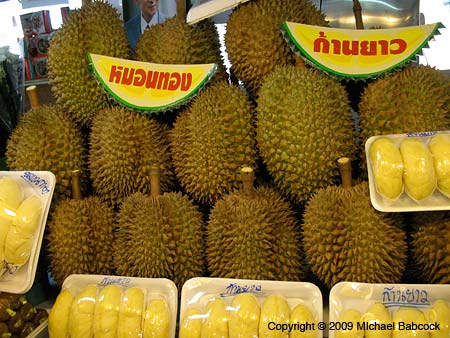 Durian for sale!