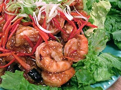 Tamarind Prawn Dish
