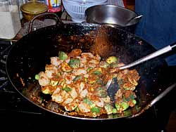 Spicy Seafood Stir-fry