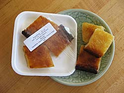Cassava cakes from Sontepheap Market