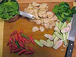Galanga and Other Ingredients