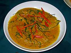 Dish with Chillies