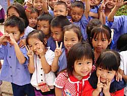 Thai School Kids
