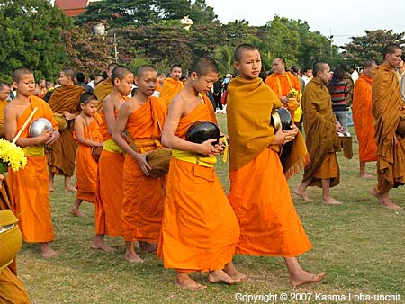 Young Thai Novices