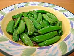 Oyster Sauce Snap Peas