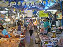 An Aisle in Hua Hin Market