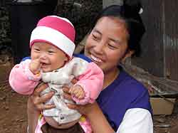 Hmong Mother & Child
