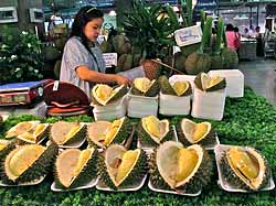 Durian Sections