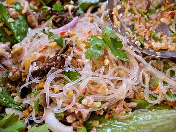 Thai-Style Bean Thread Salad