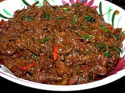 Panaeng Beef Curry