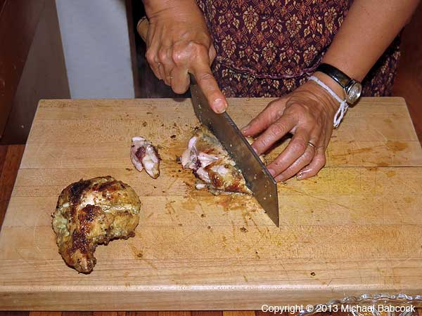 Chopping Chicken