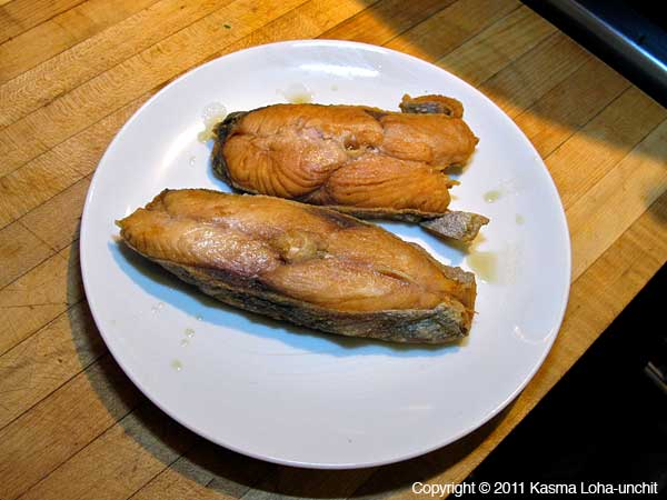 Fried Salted Mackerel