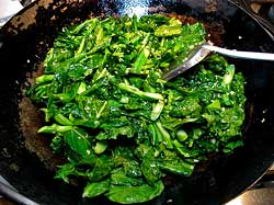 Asian Broccoli Cooking