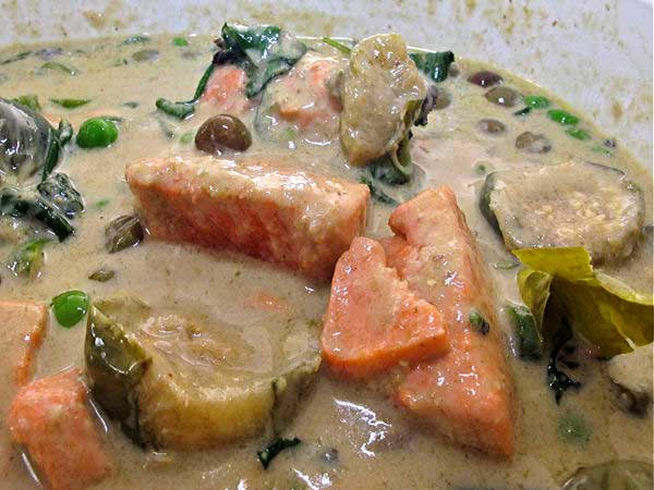 Salmon Green Curry