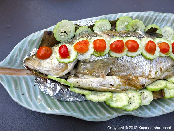 Grilled Striped Bass 1