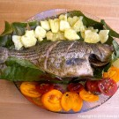 Grilled Striped Bass 2 thumbnail