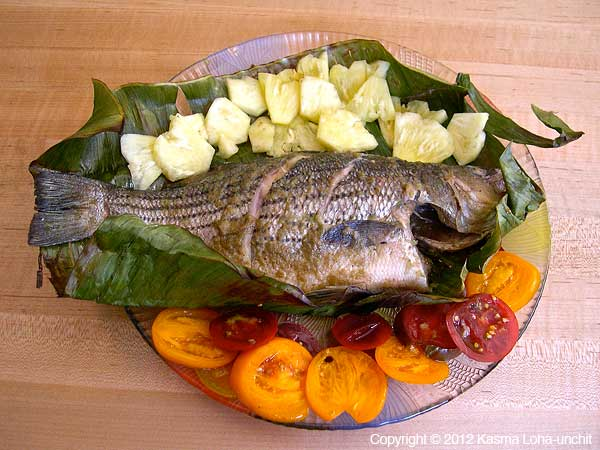 Grilled Striped Bass 2