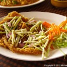 Fried Fish with Green Mango thumbnail