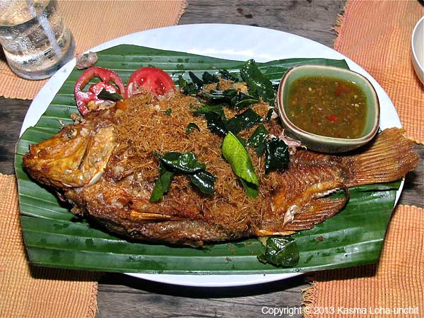 Fried Lemongrass Fish