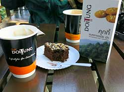 Coffee & Brownie