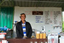 Barista and stall